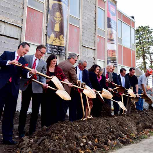Groundbreaking Ceremony for the Renovation and Expansion of Westerman Hall