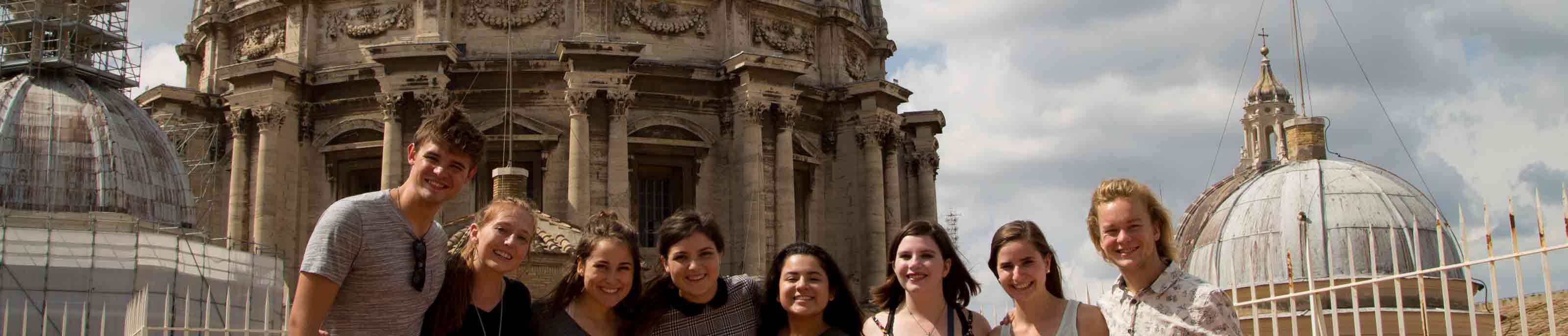 Students studying abroad in Florence, Italy