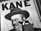 "A shot from the film ""Citizen Kane"""