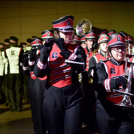 The Raven Regiment, Benedictine College's Marching Band