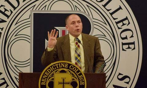 Tim Carney speaks at Benedictine College