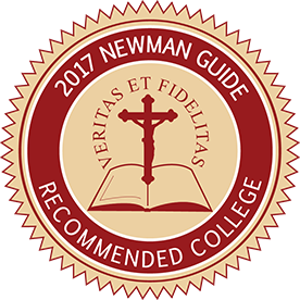 2017 Newman Guide Recommended College
