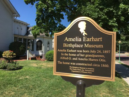 Amelia Earhart Birthplace Museum in Atchison, Kansas