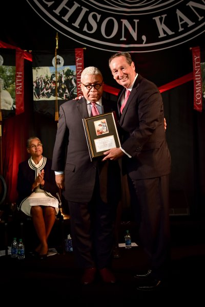 Eugene Rivers Honored during Convocation