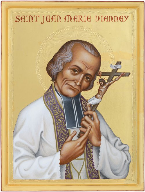The Icon of St. John Vianney